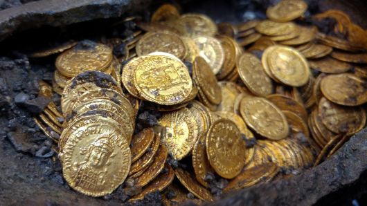 ancient roman coins found in japan