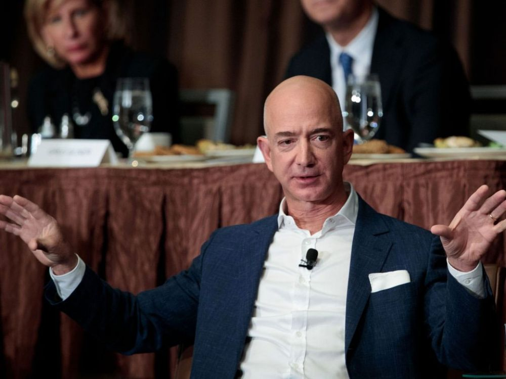 5. Bezos is so rich that an average American spending $1 is similar to Bezos spending $1.2 million.