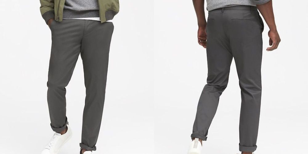 Banana Republic Aiden Core Slim Temp Pant